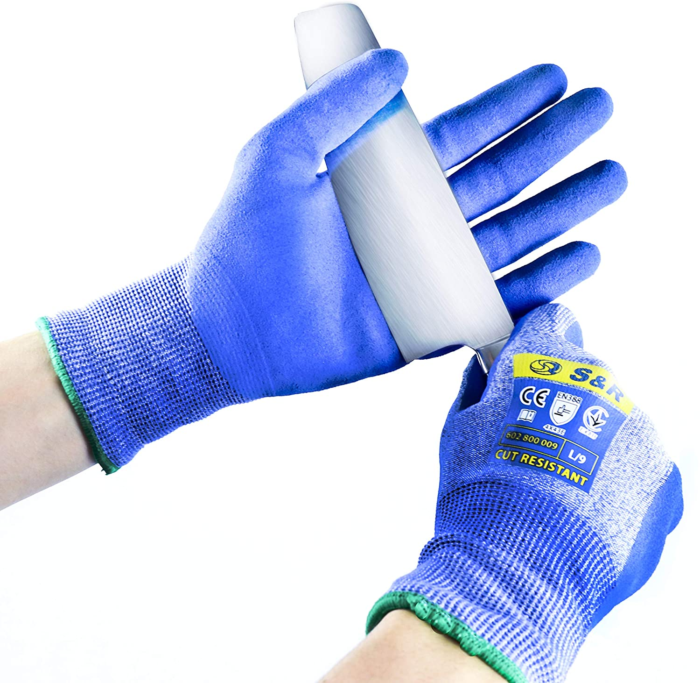 Les gants anti-coupures S&R