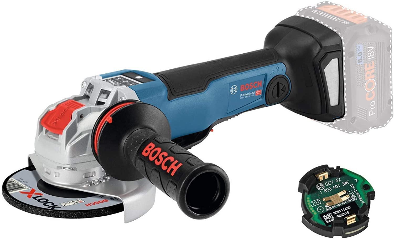 la meuleuse d'angle Bosch Professional GWX 18 V – 10 PSC