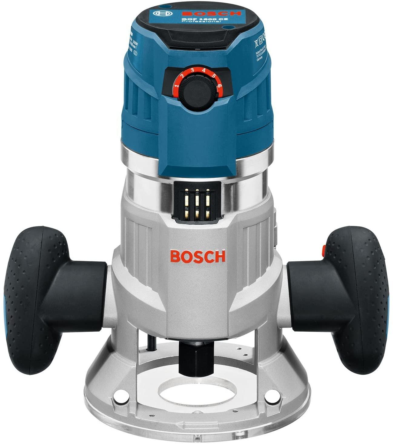 La défonceuse Bosch Professional Filaire GOF 1600 CE face