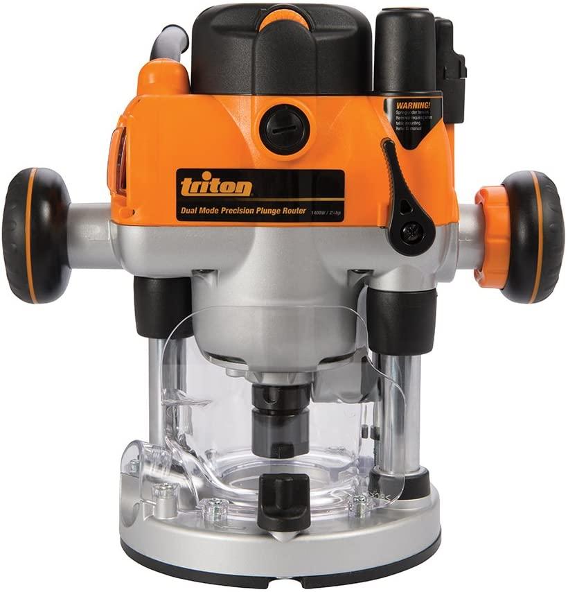 La défonceuse Triton 330085 MOF001 bi-mode 1400 face