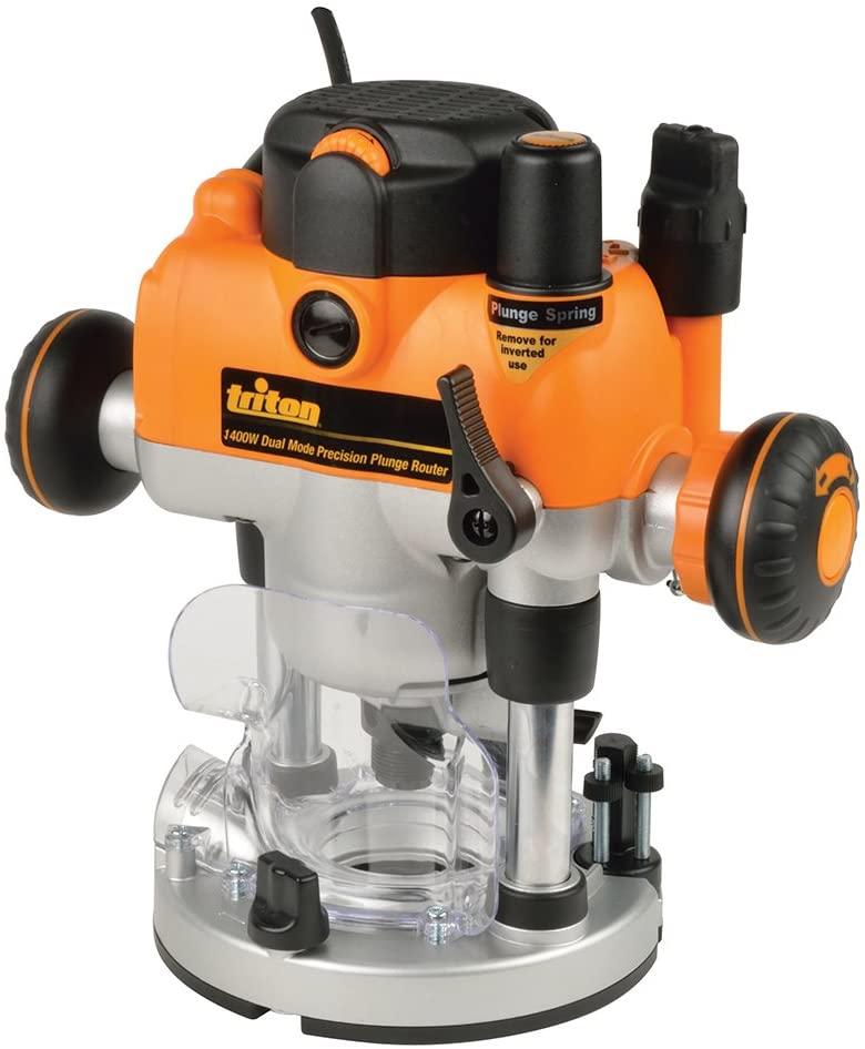 La défonceuse Triton 330085 MOF001 bi-mode 1400 profil